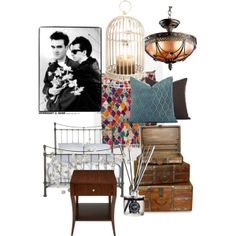 """""""Violet Harmon's bedroom"""" by ahsstyle on Polyvore"""