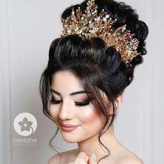 Bridal Hair...Crown. ..Beautiful