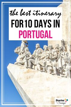 Planning a trip to Portugal? Refer to our epic 10 day Portugal itinerary. Cover all the bigger cities, stroll through charming small towns, eat well, spot Azulejos, tour nature, and do much more. Come, spend 10 days in Portugal with us. #portugaltravelitinerary #portugaltraveltips #lisbon #porto #portugalitinerary10days #portugaldestinations #septembertravel Portugal Destinations, Places In Portugal, Portugal Travel Guide, Visit Portugal, Europe Travel Guide, Spain And Portugal, Europe Destinations, Spain Travel, Travel Guides
