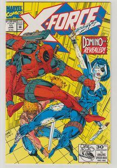 X-Force Vol 1 11 Comic Book.  NM.  June 1992. by RubbersuitStudios