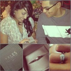 """""""The beautiful ring my love gave me for Christmas"""""""