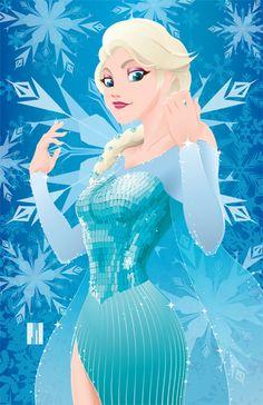 Elsa from FROZEN by artofJEPROX.deviantart.com on @deviantART