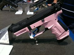Walther's P22 in pink by Girls Guide To Guns, via FlickrLoading that magazine is a pain! Get your Magazine speedloader today! http://www.amazon.com/shops/raeind