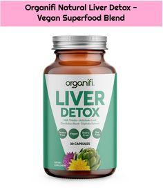 1. Organifi Natural Liver Detox – Vegan Superfood Blend  Organifi Natural Liver Detox – Vegan Superfood Blend #Blend #detox #liver #Natural #Organifi #Superfood Superfood, Natural Liver Detox, Coconut Oil, Vegans