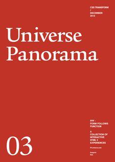 Form Follows Function - Universe Panorama