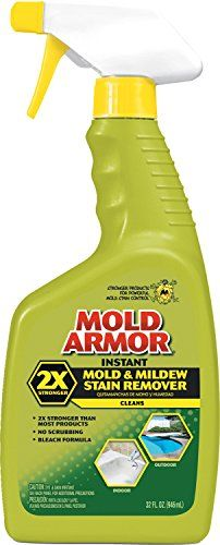 Mold Armor FG502 Instant Mold and Mildew Stain Remover, Trigger Spray 32-Ounce