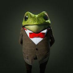 Toad of Toad Hall by Kieran Sweeney, via Behance