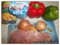 [Rezept] Ofenschnitzel mit Paprika