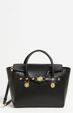 Versace 'Classic' Leather Satchel available at Nordstrom