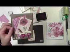 Card Making Video with Stampin' Up! Touches of Texture - YouTube