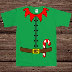 Elf Costume Elves Santa's Llittle Helper Merry Christmas Family Santa Clause Funny Holiday Gift Xmas Merry T-shirt Tee Shirt