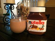 Nutella VI-SHAKE:    2 scoops Vi Shake Mix  8 oz. Plain Unsweetened Almond Milk  ... 1-2 tablespoons of Nutella  Ice  BLEND Well and Enjoy!!