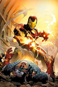 Iron Man vs. Captain America..........................