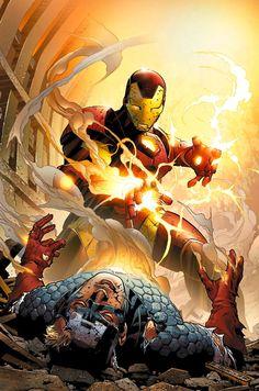 Iron Man vs. Captain America..........................