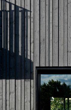 Cladding Design, House Cladding, Facade Design, House Design, Wooden Cladding Exterior, Wooden Facade, Timber Cladding, Wood Architecture, Architecture Details