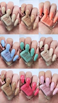 How to easily remove a glitter nail polish - My Nails Popular Nail Designs, Short Nail Designs, Nail Art Designs, Barry M Nail Polish, Barry M Nails, Spring Nail Art, Spring Nails, Spring Nail Colors, Gel Nails At Home