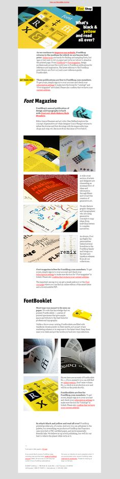 Magazine Archives » Beautiful Email Newsletters