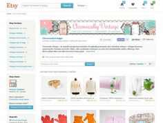 An Etsy Store Owner's Tips For Selling Vintage  Etsy Store: Chronically Vintage