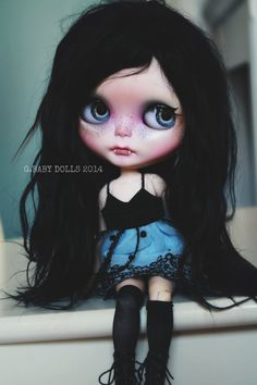 G.Baby OOAK Custom Blythe doll MIYU by bebebentley on Etsy
