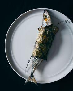Mackerel with lemon sauce Lemon Sauce, Fish Recipes, Food Styling