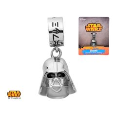 Star Wars Stainless Steel Darth Vader Dangle Charm