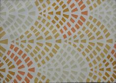 scallop patterned rug. from mar a mar #pattern #scallop
