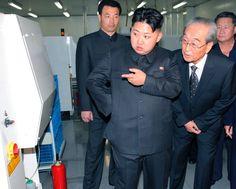 "Kim Jong Un: ""How can I open this refrigerator?"""