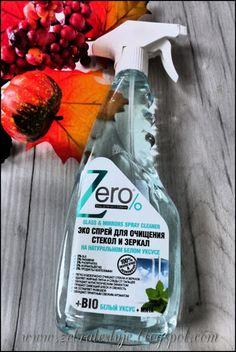 Zebra Testuje: Eco spray do mycia szkła i luster - bio biały ocet...