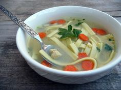 Herbed Chicken Noodle Soup Chicken Noodle Soup, Chicken Soup Recipes, Cooking Challenge, Hot Soup, Healthy Soup, Soups And Stews, Favorite Recipes, Ethnic Recipes, Drinks