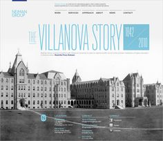 Villanova in The Current State of Web Design: Trends 2010