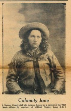 Martha Jane Canary or Cannary, Better Known As Calamity Jane Old West Outlaws, Old West Photos, Westerns, Calamity Jane, Vintage Cowgirl, Into The West, Indiana, American Frontier, Pinstriping