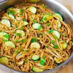Thai Zucchini Noodles