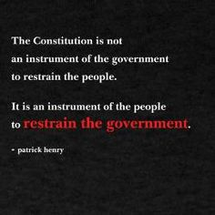 The Constitution of the United States    Patrick Henry