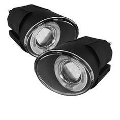 ( Spyder ) Nissan Maxima 00-01 / Nissan Sentra 00-03 / Nissan Frontier 01-04 / Nissan Xterra 02-04 Projector Fog Lights w/Switch - Clear
