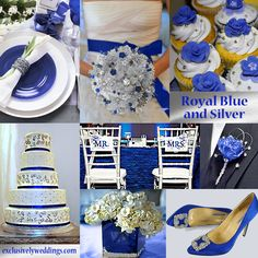 royal-blue-and-silver-wedding1.jpg 808×808 pixels