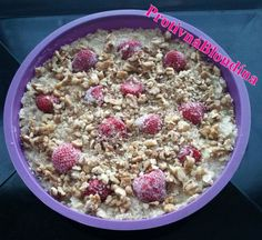 Rýchla fitness torta Thing 1, Cereal, Oatmeal, Cherry, Health Fitness, Cooking, Breakfast, Cake, Recipes