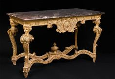 Table console d'époque Louis XIV