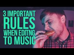 In this video I will explain 3 rules or tips that I find helpful when editing to music. Think of it as a How to edit to music tutorial or walk-through. Video Editing, Music, Youtube, Musica, Musik, Muziek, Music Activities, Youtubers, Youtube Movies