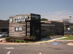 Starbucks Drive-Thru Coffee Shop / Cobb County, GA
