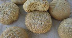 Κουλουράκια με ταχίνι Biscuit Cookies, Pastry Cake, Biscuits, Muffin, Bread, Breakfast, Sweet, Desserts, Food