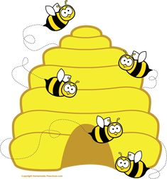 Clipart walk awat from a bee - Clip Art Library Honey Bee Cartoon, Cartoon Bee, Cartoon Pics, Beehive Pictures, Bee Pictures, Bee Clipart, Image Transparent, Bee Images, Beekeeping