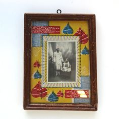 Vintage Hand Painted Photograph