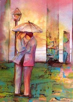 "Pamela Vosseller: ""Together We Can."", mixed medium."