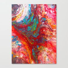 Abstract Artwork Colourful #13 | Different abstract artworks were painted to create interesting structures. #Painting #Decoration #Unique #Design #Abstract #Painting #Abstraction #acrylic #pouring #acrylicpainting #acrylicart #colorful #pouringpaint #pouringmedium #fluidpainting #abstractartwork #fluid #pourart #colorfulart #society6 #artprint #kathrinmay