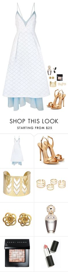 """""""Untitled #430"""" by h1234l on Polyvore featuring Alex Perry, Giuseppe Zanotti, Marc Jacobs, Bobbi Brown Cosmetics and Sigma Beauty"""