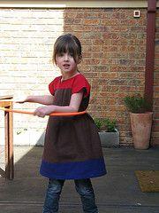 oliver+s  ice cream dress - linen