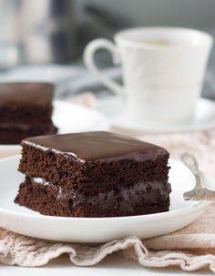 Fudgy Chocolate Sheet Cake | Baker Bettie
