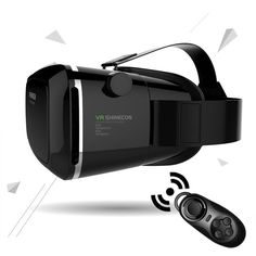 100% Original Virtual Reality 3D Glasses Helmet VR BOX Headset For Smartphone