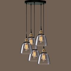 Euna Adjustable Cord Edison Lamp - Overstock Shopping - Great Deals on Warehouse of Tiffany Chandeliers & Pendants Edison Bulb Chandelier, Tiffany Chandelier, Edison Lamp, Edison Lighting, Dining Room Lighting, Home Lighting, Chandelier Lighting, Edison Bulbs, Room Lights