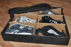 Практичный и удобный органайзер-трансформер для обуви своими руками